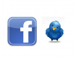 Facebook og Twitter