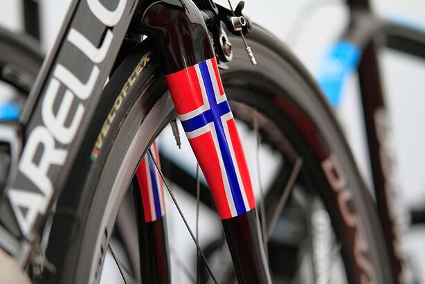 Sykkelen til Boasson Hagen?