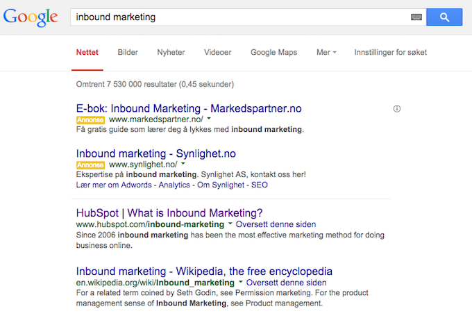 Googleskpinboundmarketing