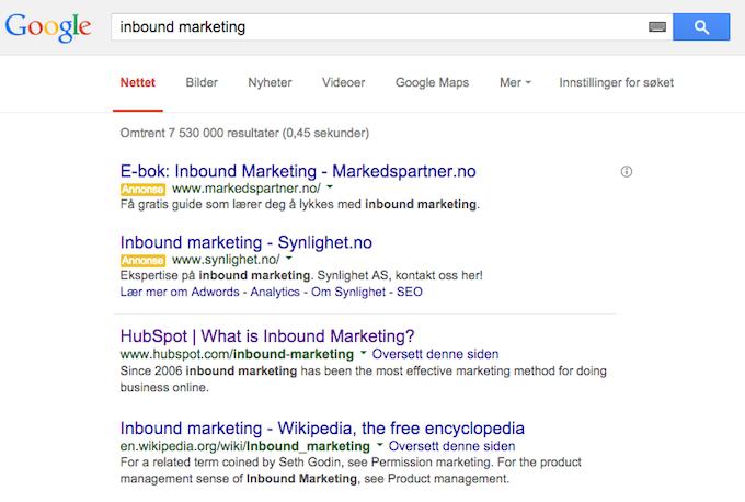 Googleskpinboundmarketing
