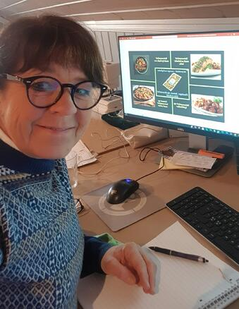 Hanne Tømte Hjemmekontor anno 2021