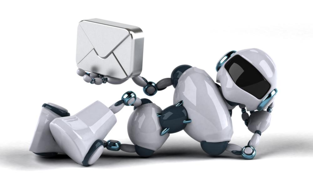 Handler inbound kun om å sende automatiserte e-poster