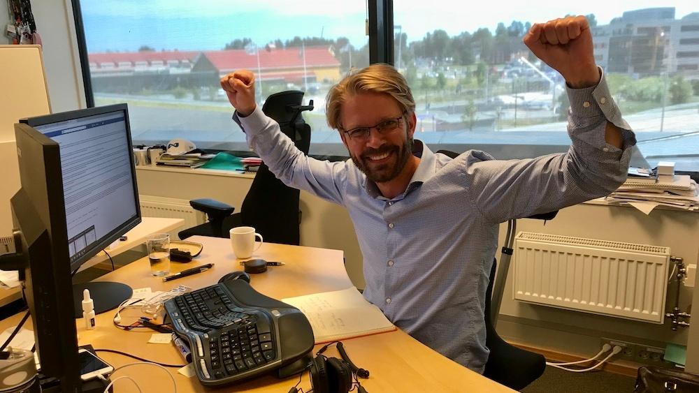 Marius Torjusen - mest leste blogger på Inboundbloggen første halvår 2018