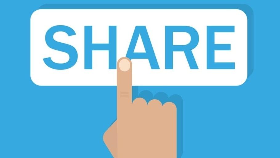 Øk rekkevidden på innholdet ditt med delingsknapper