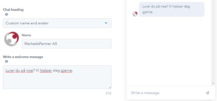 Øk antall konverteringer med Live Chat kontaktens eier