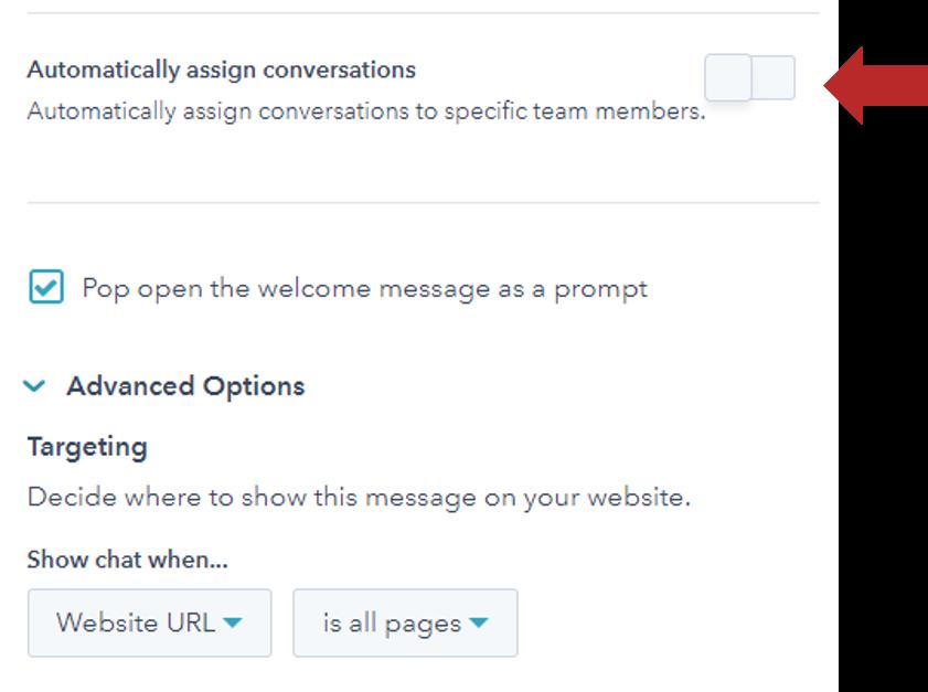 Øk antall konverteringer med Live chat automatisk tildeling