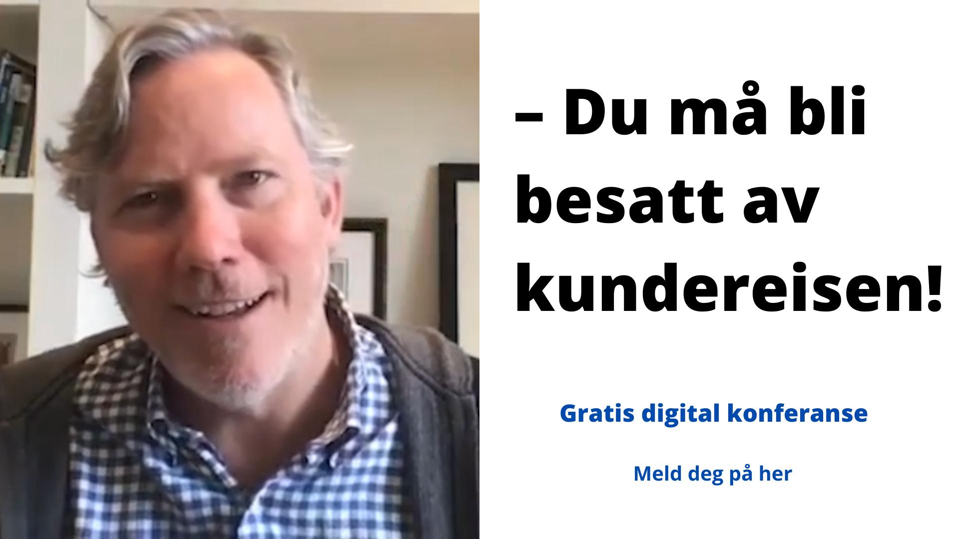Brian Halligan, CEO i HubSpot, i intervju med Stig Hammer fra MarkedsPartner