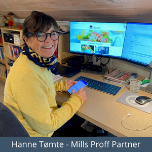 Hanne Tømte Mills Proff Partner
