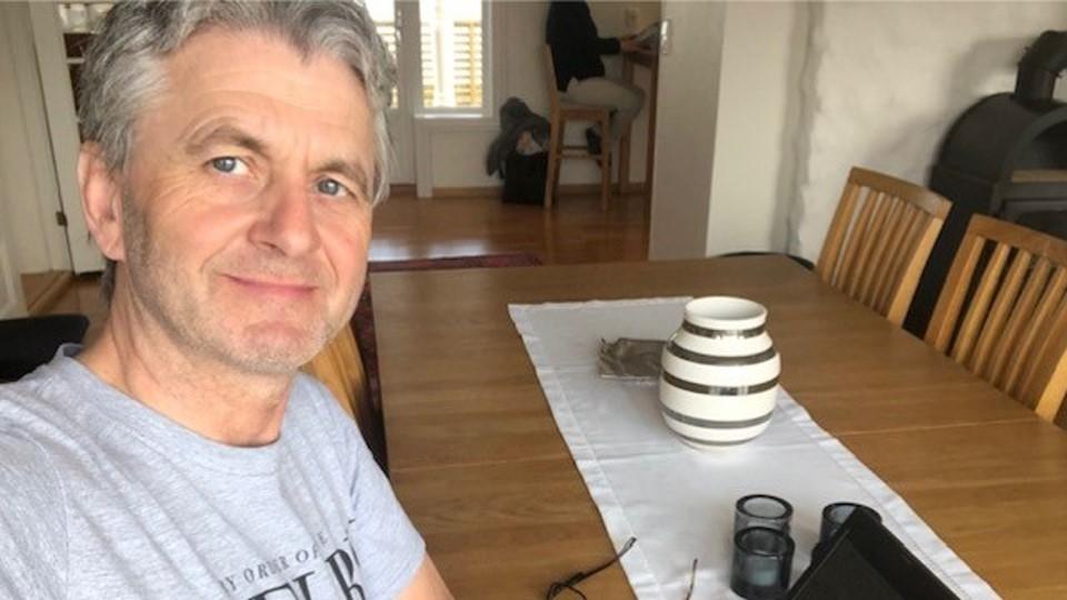 Morten Frøid, markedsdirektør ved Norsk Gjenvinning, på hjemmekontor under COVID19- Nå må vi segmentere og målrette enda mer!