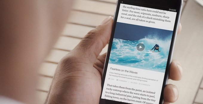 Native annonsering i sosiale medier: Facebook Instant Articles
