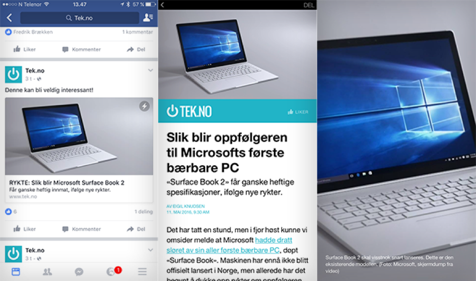 Native annonsering med Facebook Instant Articles 2