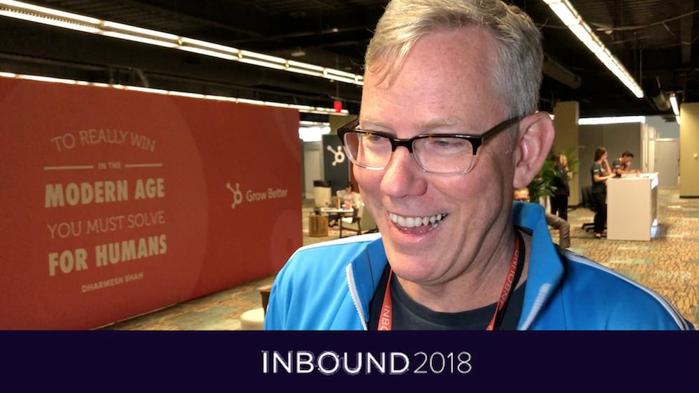 Brian Halligan - CEO i HubSpot på INBOUND 2018