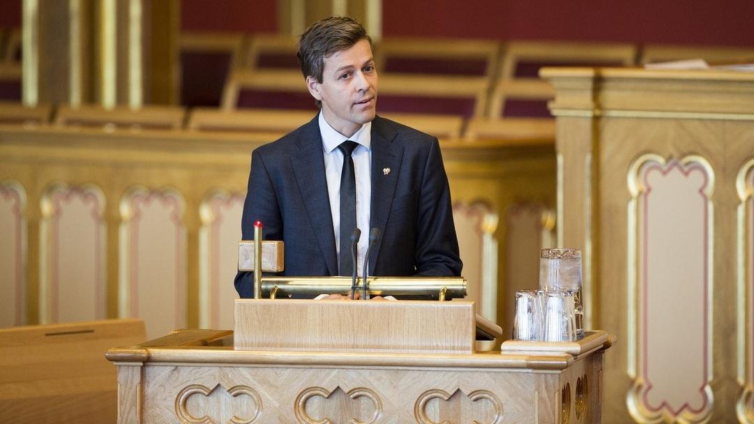 Fra tåkefyrste til visjonær leder (KrF-leder, Knut Arild Hareide (Foto: Stortinget))