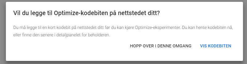Google optimize 2
