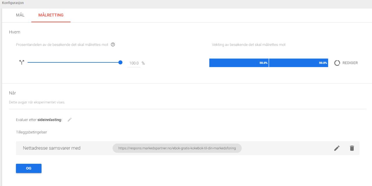 Google optimize 7