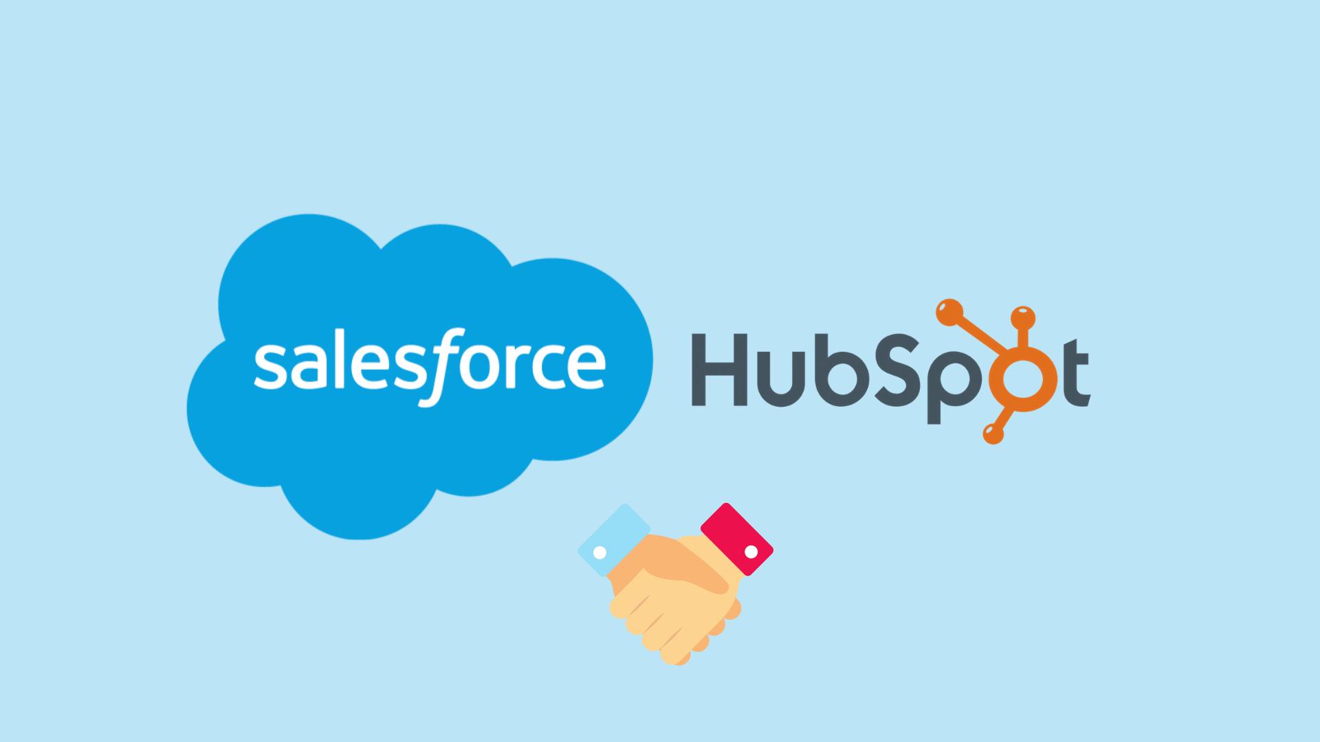 Salesforce og hubspot
