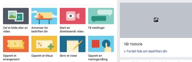 Facebook - Vår historie