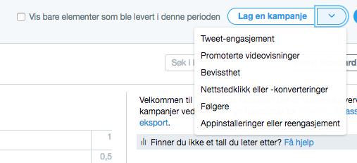 Twitter annonsering