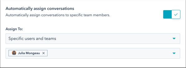 automatically assign conversations_hubspot