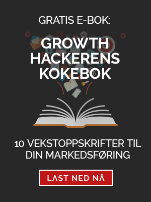 Gratis e-bok: Growth hackerens kokebok