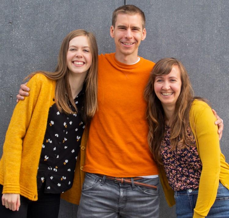Elise Hofmo, Lise Lippert og Marius Wallin's photo